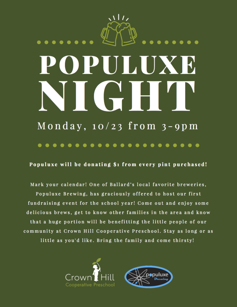 Populuxe Night - Monday, 10/23 from 3-9pm